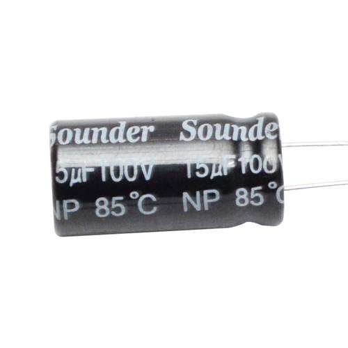 Foto Produk SOUNDER CAPACITOR BIPOLAR 56MFD/100V (BERDIRI) dari Cello Audio