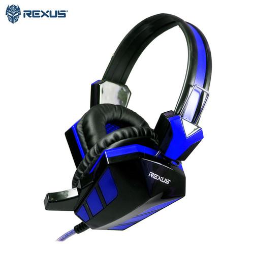 Foto Produk Headset Gaming Rexus Vonix F22 - Biru dari Ridista Official Store