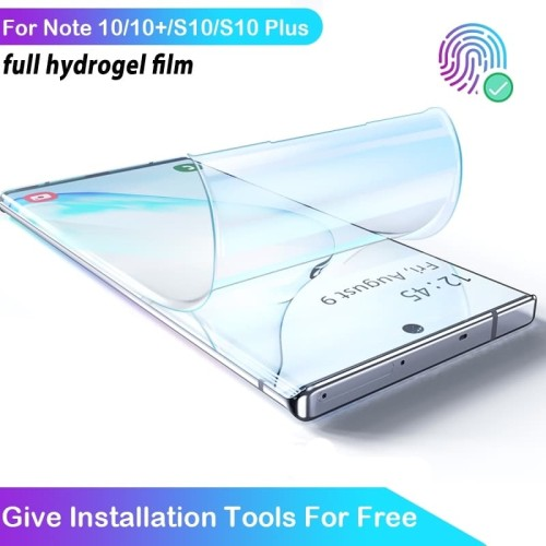 Foto Produk Hydrogel anti gores Samsung Note 10 PLUS screen guard protector dari Rkaseshop