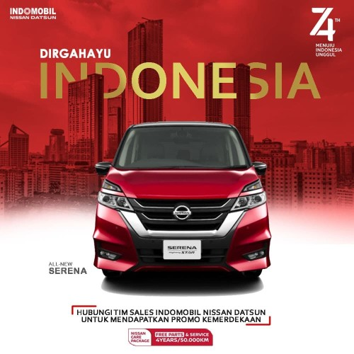 Foto Produk New Serena X dari Indomobil Nissan Datsun