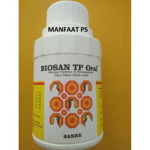 Foto Produk BIOSAN TP ORAL 100 ml obat unggas produksi sanbe dari manfaat ps