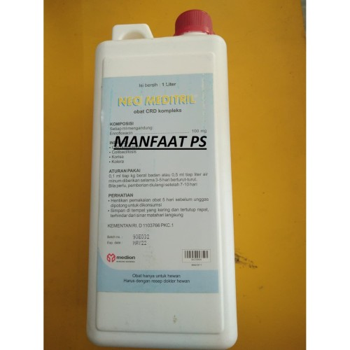 Foto Produk NEO MEDITRIL 1 L obat CRD kompleks produksi medion dari manfaat ps