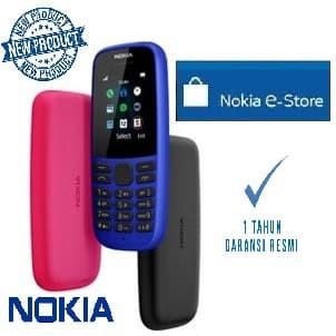 Foto Produk Nokia NEW 105 Dual Sim 2019 Garansi Resmi Nokia Indonesia - Hitam dari NOKIA e-store