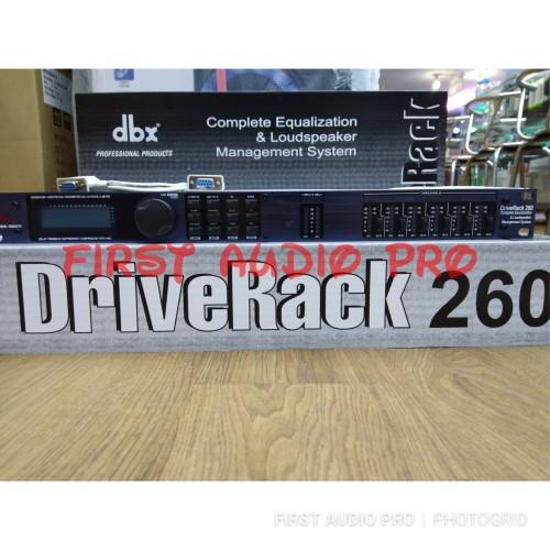 Foto Produk Speaker Management DBX 260 DRIVE RACK dari First Audio Pro