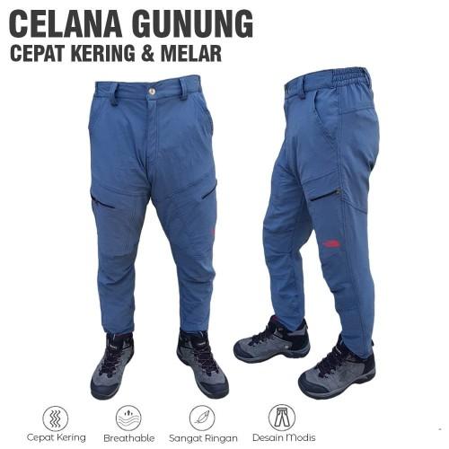 Foto Produk Celana panjang gunung celana quickdry streech celana gunung celana out dari wahidadventure