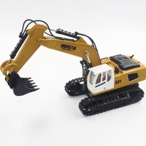 Foto Produk Huina 1331 RC Excavator 1/18 9CH Mainan Remote Alat Berat dari Live4Toys Official Store