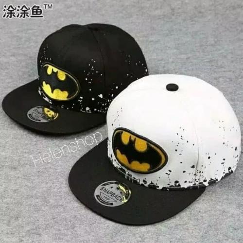 Foto Produk Topi anak laki-laki Batman - Putih dari Elsen Shop Cell
