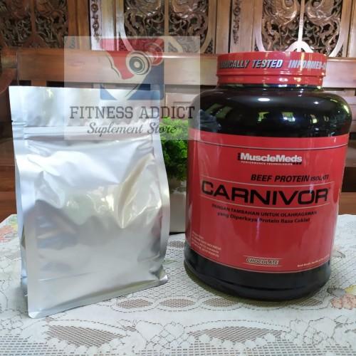 Foto Produk Carnivor Whey 1lb Ecer / Repack / Keteng Carnivor Beef Protein Isolate dari FitnessAddict Suplemen