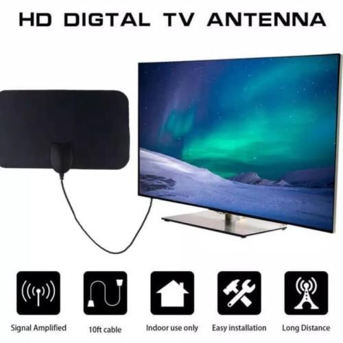 Foto Produk antena tv digital indoor HDTV 50 miles VHF UHF cocok untuk segala tv dari Toko Yuyun Pesona