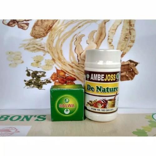 Foto Produk Obat Alami Wasir Stadium 4 (Ambejoss + salep salwa De Nature Indonesia dari Herbal de Nature