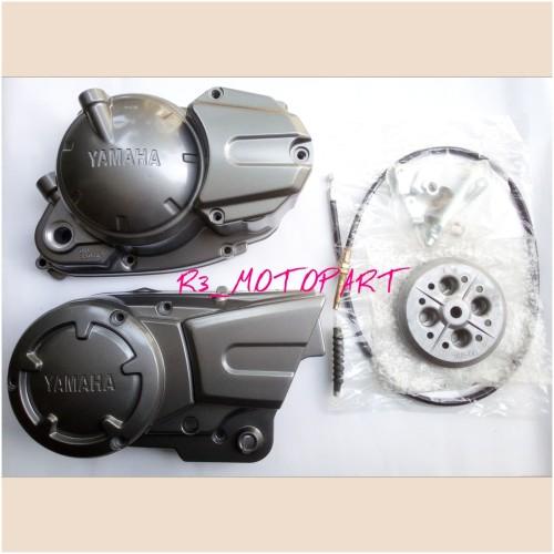 Foto Produk Block/Blok Model Kopling Kanan MX + Bak Magnet Kiri RX King New dari R3_MOTOPART