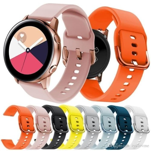 Foto Produk STRAP SILIKON MODEL ORIGINAL SAMSUNG GALAXY WATCH ACTIVE 40MM TALI JAM dari Jiesha Shop