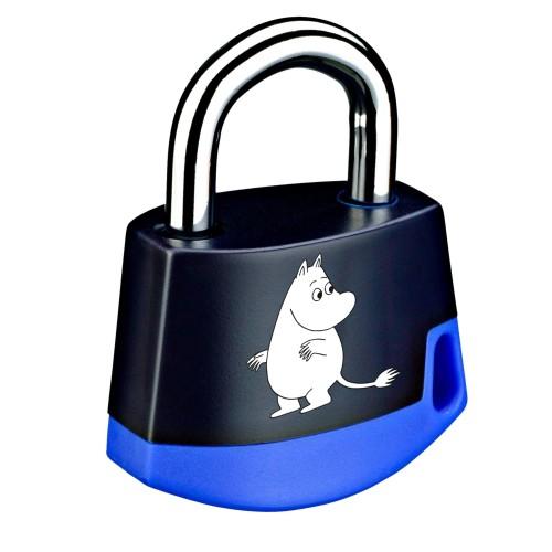 Foto Produk Padlock Dark blue/light blue MOOMIN Moomintroll 211M1 dari Abloy Official Store
