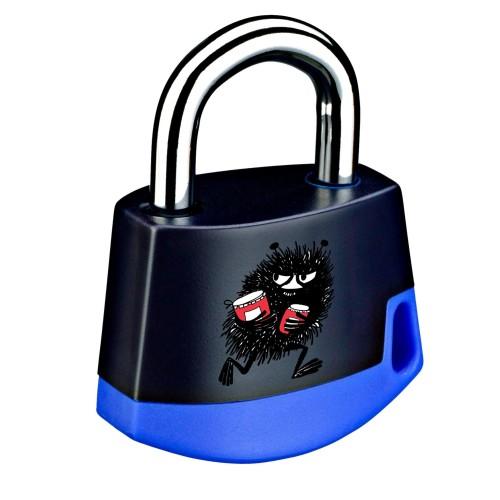 Foto Produk Padlock Dark blue/light blue MOOMIN Stinky 211M7 dari Abloy Official Store