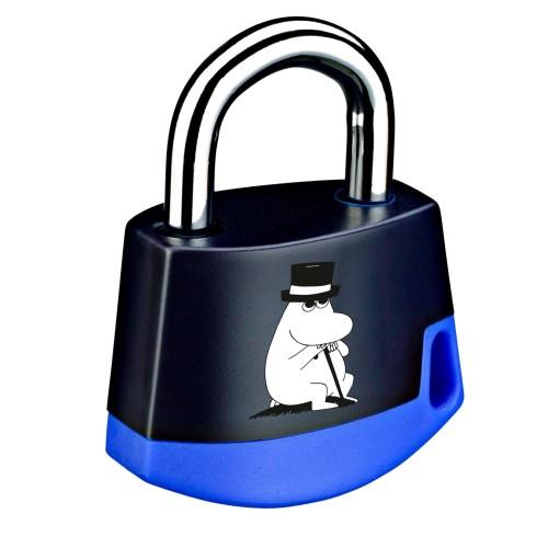 Foto Produk Padlock Dark blue/light blue MOOMIN Moominpappa 211M2 dari Abloy Official Store