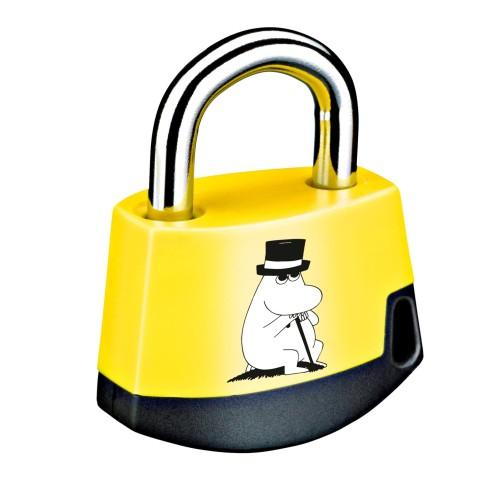 Foto Produk Padlock Yellow/black MOOMIN Moominpappa 411M2 dari Abloy Official Store