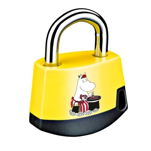 Foto Produk Padlock Yellow/black MOOMIN Moominmamma 411M5 dari Abloy Official Store