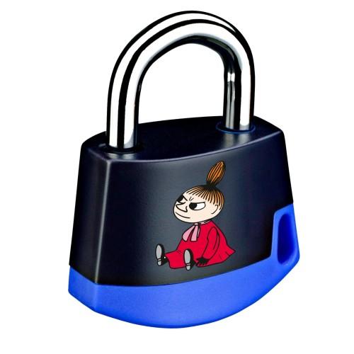 Foto Produk Padlock Dark blue/light blue MOOMIN Little My 211M6 dari Abloy Official Store