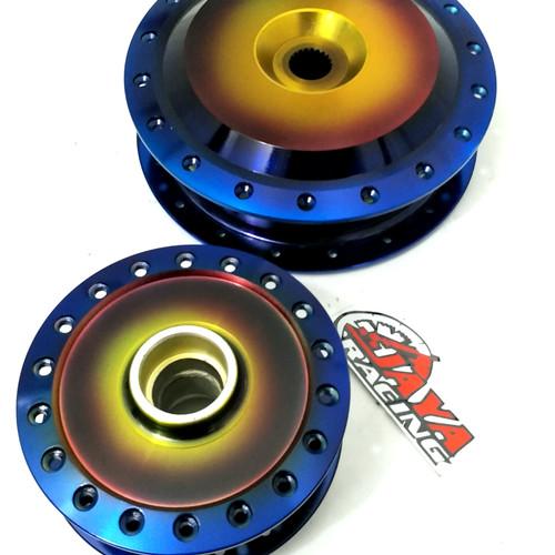Foto Produk Tromol Set Two Tone 2Tone Beat Scoopy Vario 110 125 150 Dll dari jaya racing