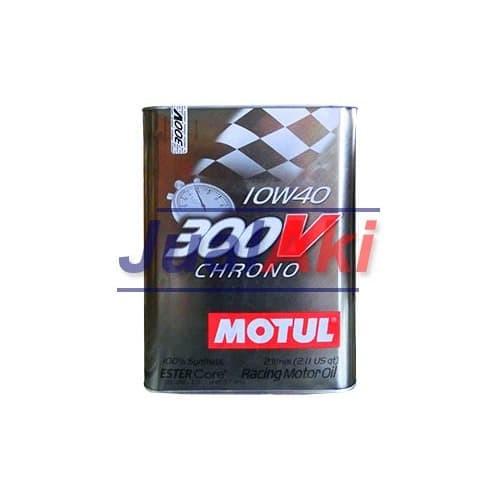 Foto Produk Motul 300V Chrono SAE 10W40 Kaleng 2 Liter dari JualAki