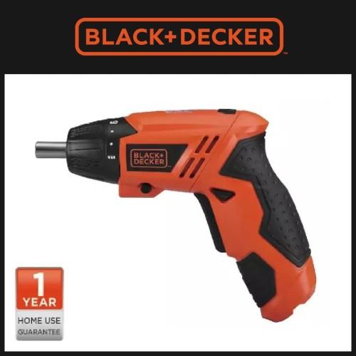 Foto Produk Black+Decker Obeng Elektrik Screwdriver Cordless 4.8V (KC4815-B1) dari Relog.In