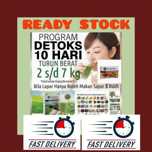 Foto Produk PROMO Diet Sehat dgn Detoks Vitayang Raw Meal dari online shop roses