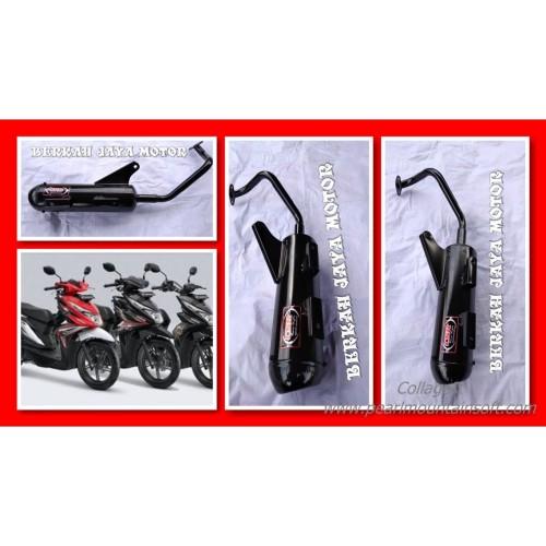 Foto Produk Knalpot Racing Bobokan Mber Honda Beat All New Ataw Beat Streat CSR dari oos motor