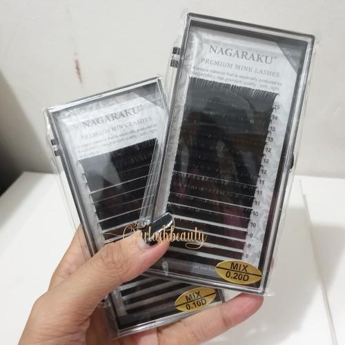 Foto Produk Nagaraku eyelash extension - MIX size dari ourlashbeauty