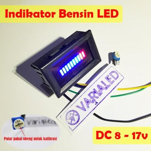 Foto Produk DIY Indikator Bensin LED Strip 10 Titik DC 12V Adjustable Fuel Meter dari variaLED