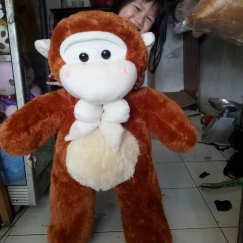 Foto Produk BONEKA MONYET / MONKEY JUMBO dari dunia boneka lucu