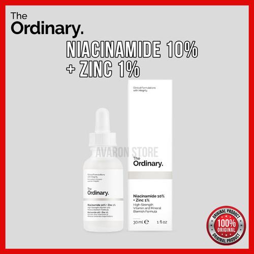 Foto Produk THE ORDINARY NIACINAMIDE 10% + ZINC 1%, 30 ml dari Avaron Store