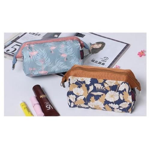 Foto Produk Charming Water Resistant Cosmetic Cube Pouch / Tas Kosmetik - Flamingo dari EnnWen Online Store