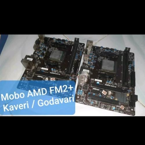 Foto Produk Macam2 Mobo FM2+ AMD Gigabyte Asus MSI Asrock for A4 A6 A8 A10 X4 880K dari Najch Creative House