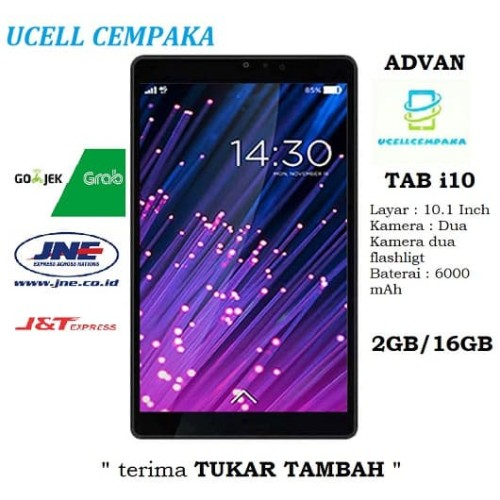 Foto Produk Tablet Advan i10 Idos 7.22 - 16GB - Garansi Resmi dari ucell cempaka