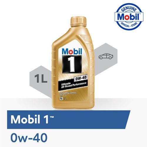 Foto Produk Oli Mesin - Mobil 1 0W-40 (1 liter) dari Mobil Official Store