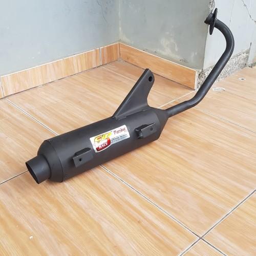 Foto Produk KNALPOT BOBOKAN STANDART MIO J-MIO M3-MIO GT-FINO FULL BLACK dari mb variasi