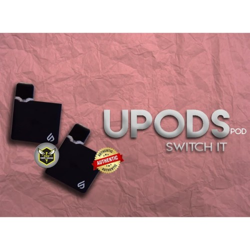 Foto Produk Pod Upods Square V2 Gen 2 Switch It by Upods Indonesia Black dari Bee Vape House