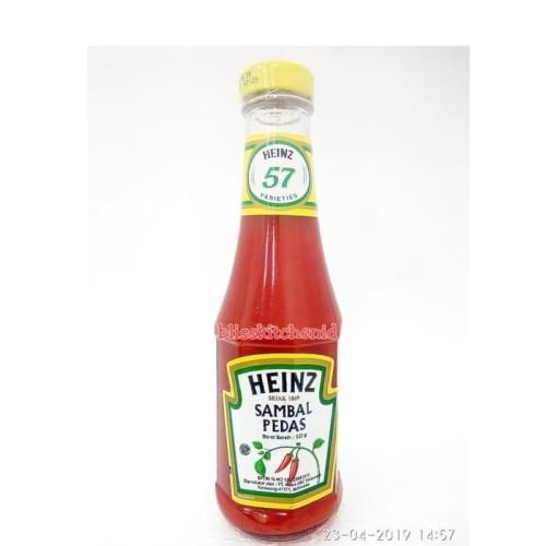 Foto Produk Heinz Chili Sauce / Saus Sambal Pedas Heinz 320gr dari Bliss Kitchen Jaksel