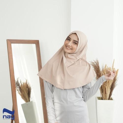 Foto Produk Hijab Instan - Zalfa Hijab Peanut dari Nay Sportswear