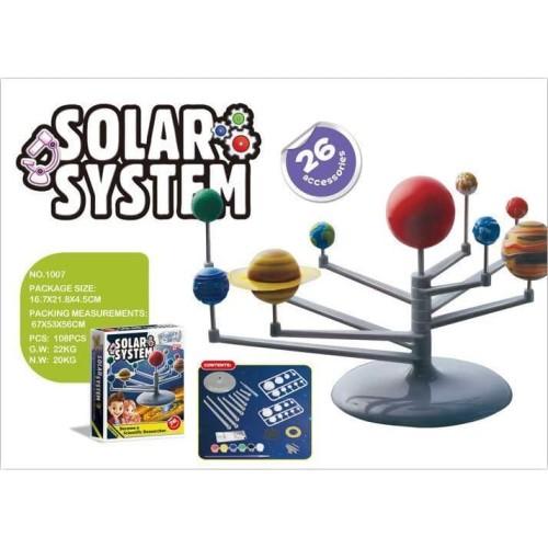 Foto Produk Mainan Edukasi Anak Eksperimen/Ilmiah Solar System dari solusibayi