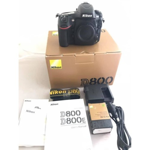 Foto Produk NIKON D800 LIKE NEW MULUSS dari Finding Camera