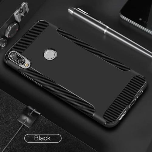 Foto Produk Asus Zenfone Max Pro M2 / Max M2 Soft Case Brushed Carbon Tpu Wing - - MAX PRO M2 dari Urban Story
