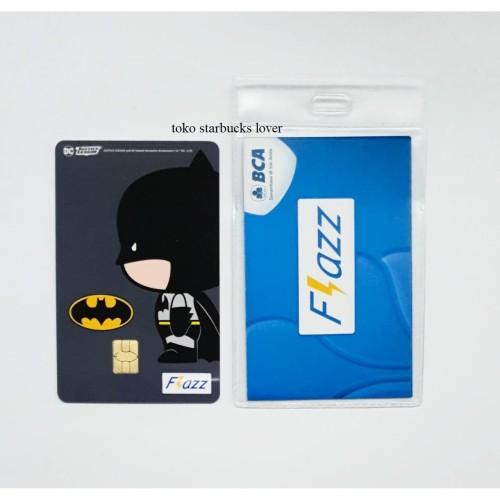 Foto Produk Kartu Flazz Bca Saldo 0 seri Superheroes Kartu - Batman dari Toko Starbucks lover