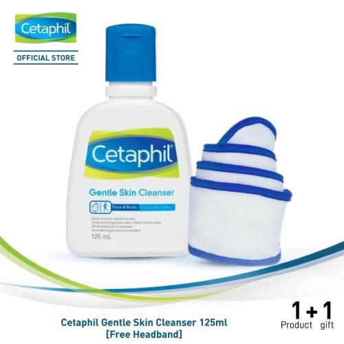 Foto Produk Cetaphil Gentle Skin Cleanser 125ml [Free Headband] dari Cetaphil Indonesia