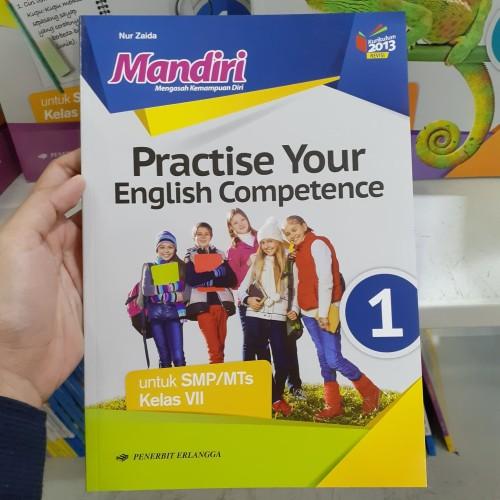 Foto Produk MANDIRI Practice Your English Competence SMP kelas 1 dari SECANGKIR BUKU