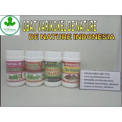 Foto Produk Obat Varikokel Herbal Ampuh De Nature dari Pusat De Nature Herbal