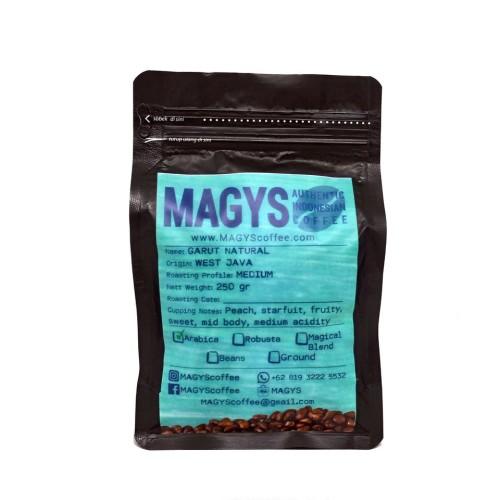 Foto Produk Kopi Arabica Garut Natural 250 gr, biji/bubuk dari MAGYS