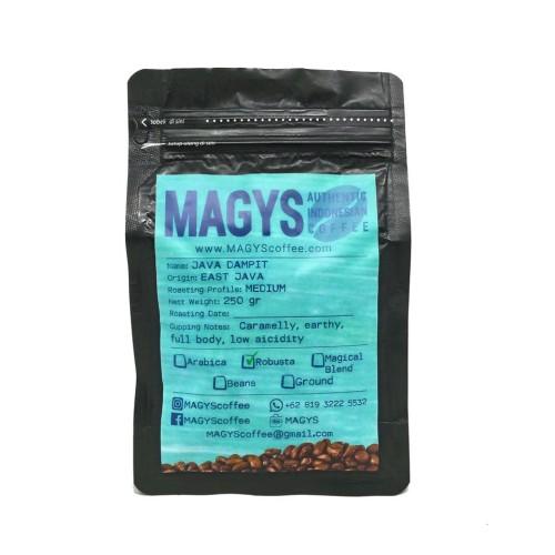 Foto Produk Kopi Robusta Lampung 250 gr, biji/bubuk dari MAGYS