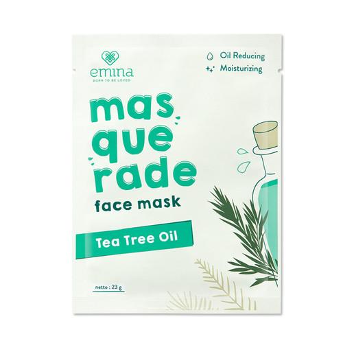 Foto Produk Emina Masquerade Face Mask Tea Tree Oil 23 gr dari Emina Official Store