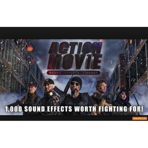Foto Produk Action Movie Sound Effects Library - 1000 HD Sound Effect dari Kacang Bawang Bu Linda